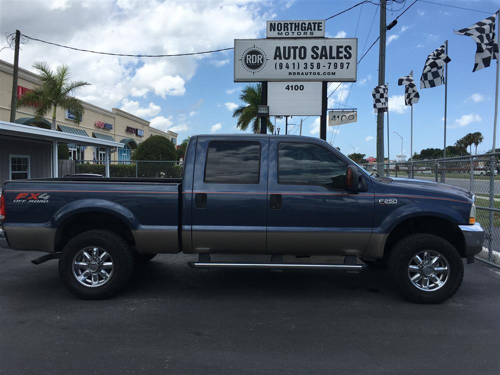2004 Ford F-250 Super Duty Crew Cab 4x4