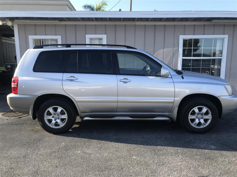 2002 Toyota Highlander Limited AWD