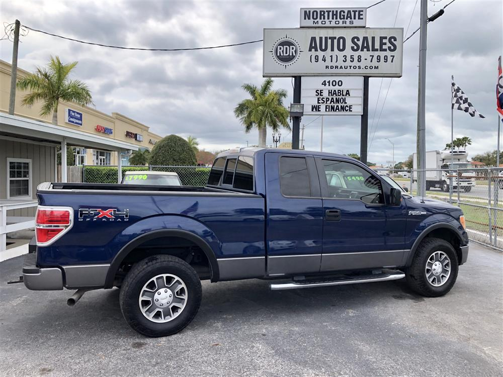 2009 Ford F 150 FX4 SUPER CAB