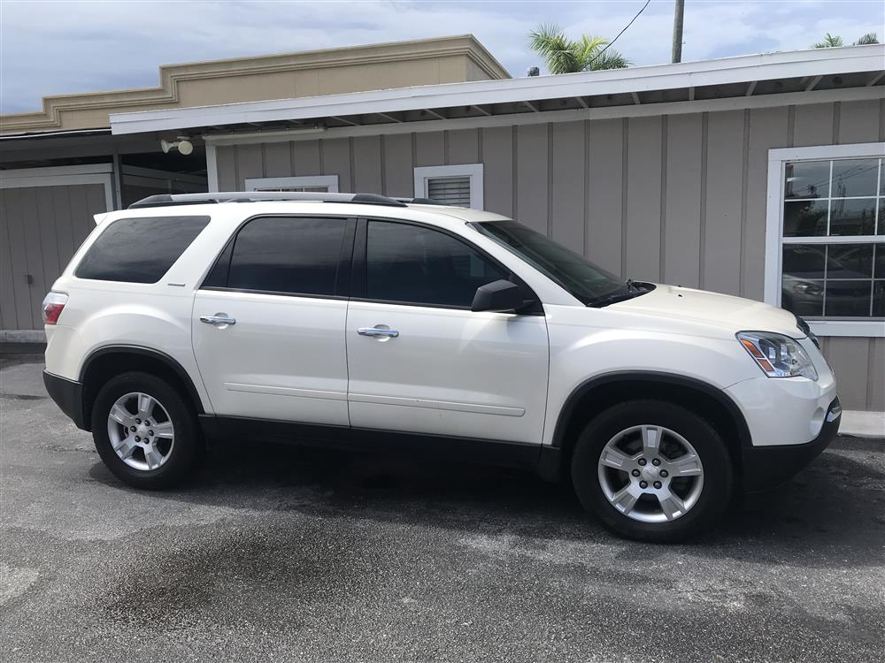 2012 GMC ACADIA LIMITED EDITION