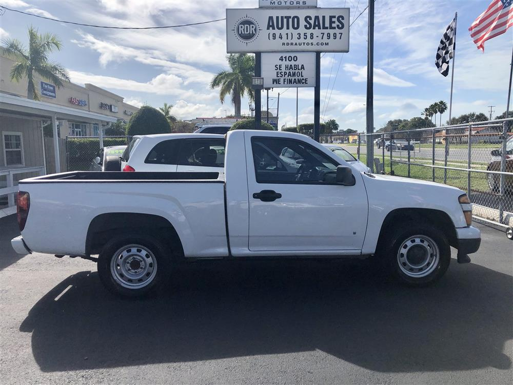 2009 Chevrolet Colorado W/Truck 6ft bed